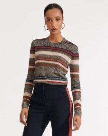 Jora cropped sweater at Veronica Beard