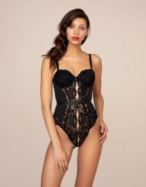 Jorja Body Black at Agent Provocateur