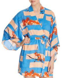 Josie Brushed Flower Happi Printed Robe at Bloomingdales