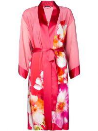 Josie Natori Floral Print Belted Robe - Farfetch at Farfetch