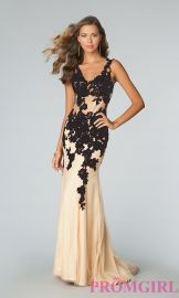 Jovani Lace Dress at Prom Girl