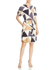 Jubilee Geometric-Print Dress at Bloomingdales