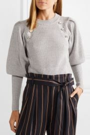 Jude button-embellished wool sweater at Net A Porter