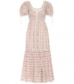 Judith cotton dress at Mytheresa
