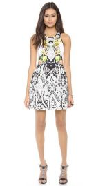 Juicy Couture Deco Holiday Print Dress at Shopbop