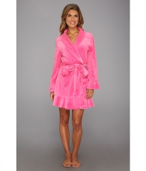 Juicy Couture Velour Robe Highlighter at Zappos