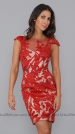 Juliettes red dress at Unica Melrose