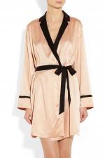 Juliette's silk robe at Net A Porter