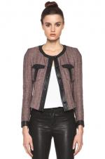 Juliettes tweed jacket at Forward by Elyse Walker