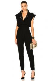 Jumpsuit in Black by Alexandre Vauthier at Forward