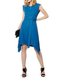 KAREN MILLEN Grommet-Detail Dress at Bloomingdales