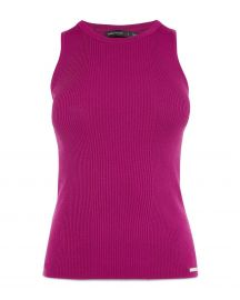KAREN MILLEN Rib-Knit Tank Top  Women - Bloomingdale s at Bloomingdales