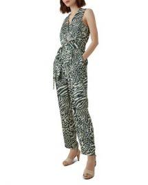 KAREN MILLEN Animal-Print Jumpsuit  Women - Bloomingdale s at Bloomingdales