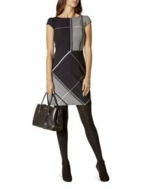KAREN MILLEN Check Dress at Bloomingdales