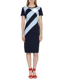 KAREN MILLEN Check Print Dress at Bloomingdales