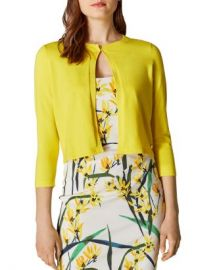 KAREN MILLEN Cropped Cardigan  Women - Bloomingdale s at Bloomingdales