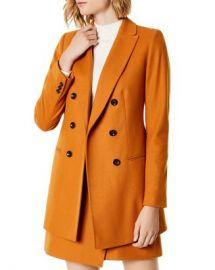 KAREN MILLEN Double-Breasted Coat Women - Bloomingdale s at Bloomingdales