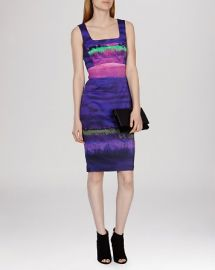 KAREN MILLEN Dress - Painterly Stripe Signature Stretch at Bloomingdales