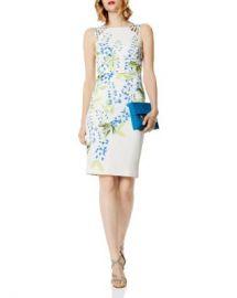 KAREN MILLEN Floral Print Strappy Sheath Dress Women - Bloomingdale s at Bloomingdales