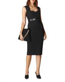 KAREN MILLEN Forever Belted Sheath Dress  Women - Bloomingdale s at Bloomingdales