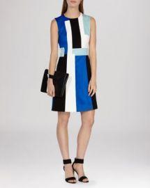 KAREN MILLEN Modernist Color Block Dress at Bloomingdales