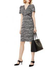 KAREN MILLEN Puff-Sleeve Sheath Dress   Bloomingdale  39 s at Bloomingdales