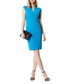 KAREN MILLEN Puff-Sleeve Sheath Dress  Women - Bloomingdale s at Bloomingdales