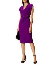 KAREN MILLEN Ruffled Sleeve Dress Women - Bloomingdale s at Bloomingdales