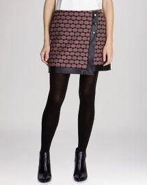 KAREN MILLEN Skirt - Geometric Wrap at Bloomingdales