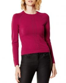 KAREN MILLEN Studded Sweater - 100  Exclusive Women - Bloomingdale s at Bloomingdales