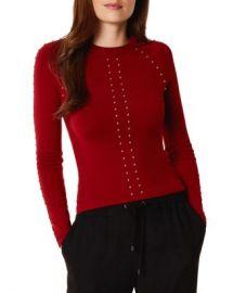KAREN MILLEN Studded Sweater Women - Bloomingdale s at Bloomingdales