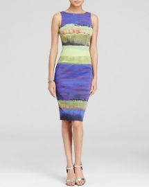 KAREN MILLEN Wide Brushstroke Print Dress - Bloomingdaleand039s Exclusive at Bloomingdales