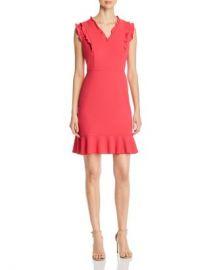 KARL LAGERFELD Paris Sleeveless Ruffle-Trim Dress Women - Bloomingdale s at Bloomingdales