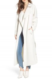 KENDALL   KYLIE Drape Trench Coat   Nordstrom at Nordstrom
