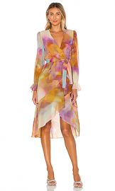 KENDALL   KYLIE Front Wrap Duster in Tie Dye from Revolve com at Revolve