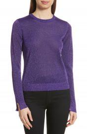 KENZO Metallic Knit Sweater at Nordstrom
