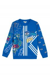 KENZO Multi Icon Graphic Sweatshirt  Toddler Boys  Little Boys  amp  Big Boys    Nordstrom at Nordstrom