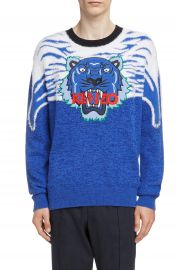 KENZO Tiger Appliqu   Sweater   Nordstrom at Nordstrom