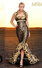 KH024 Dress by MNM Couture at Peaches Boutique