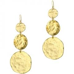 KJL Gold Drop Earrings at JC Penney
