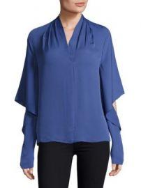 KOBI HALPERIN - Edyn Cascading Sleeve Blouse at Saks Fifth Avenue