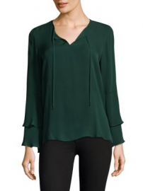 KOBI HALPERIN - Marnie Bell Sleeves Silk Blouse at Saks Fifth Avenue