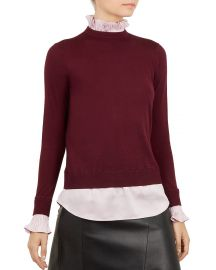 Kaarina Layered-Look Sweater at Bloomingdales