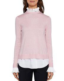Kaarina Layered-Look Sweater ted baker at Bloomingdales