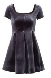 Kachette Velvet Dress at Maje