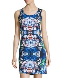 Kaleidoscope print dress at Last Call