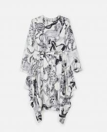 Kalyn Horse-Print Dress at Stella McCartney