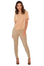 Kaman Suede Leggings by House of CB at House of CB
