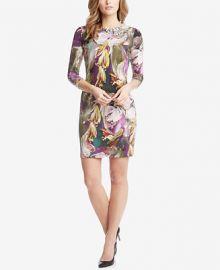 Karen Kane Printed Sheath Dress at Macys