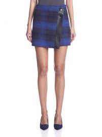 Karen Millen Check Skirt at Amazon